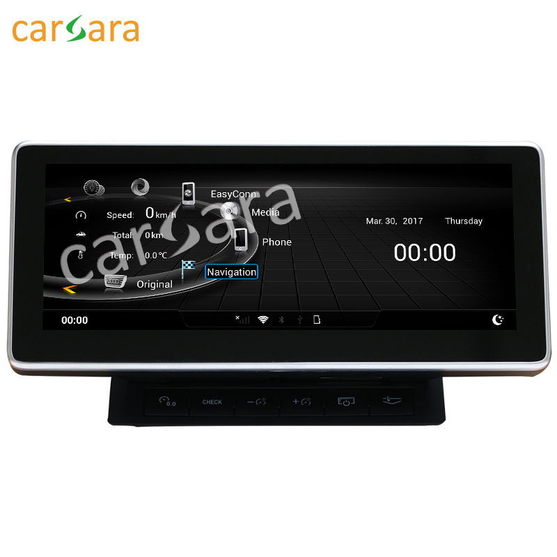 10 25 Android display for Audi A6L 2005 to 2011 touch screen GPS Navigation radio stereo