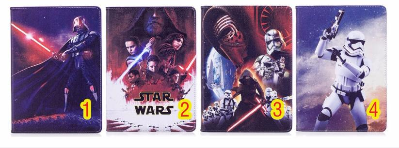 Case For Apple ipad234 Funda cases Star Wars tablet PU leather Cover Flip stand shell coque para купить