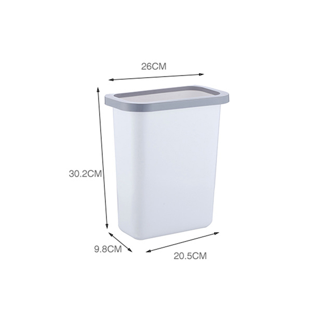 Creative Kitchen Back hanging Waste Bin Trash Can Recycling Wastebasket for Home Cabinet Office Kitchen Removable in Waste Bins from Home Garden