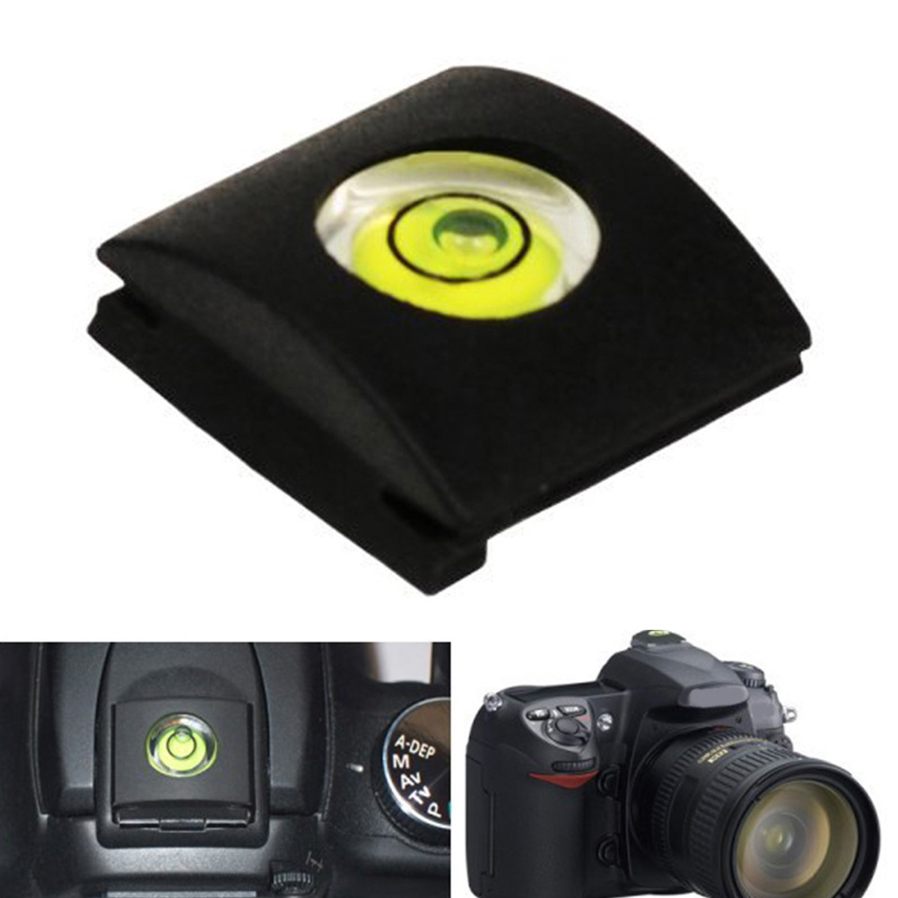 NEW Camera Accessories Flash Shoe Protective Cover Cap With Bubble Spirit Level for Fuji for 0lympus