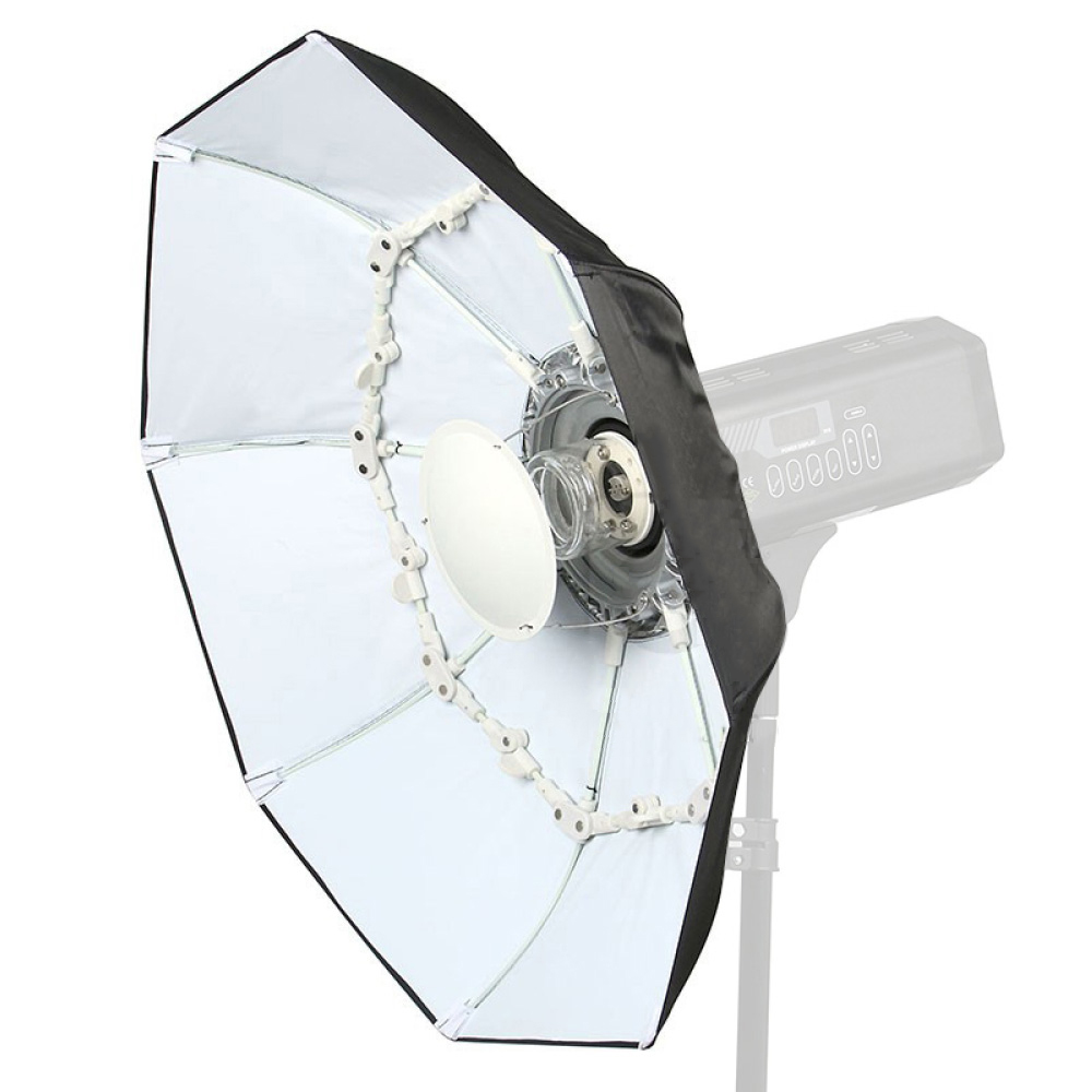 70cm WHITE Foldable Collapsible Folding Beauty Dish Softbox Umbrella Bowens Mount for Studio Lighting Speedlight Flash Strobe high quality foldable 70cm photo studio beauty dish speedlite octabox softbox inner sliver or diffuser