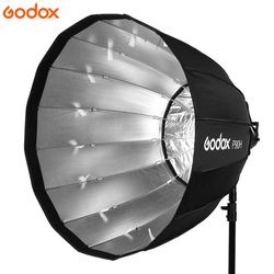 Godox Portable P90L 90CM Deep Parabolic Softbox Bowens Mount Studio Flash Speedlite Reflector Photo Studio Softbox