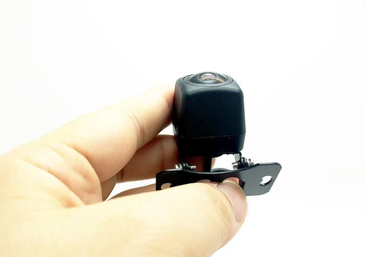 HD cámara de visión trasera de coche 170 grados de ángulo 9