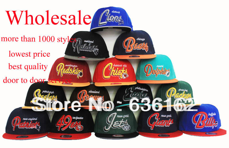 wholesale piece lot letter baseball cap football team hats discount basketball where to buy caps near me for large dogs with on them