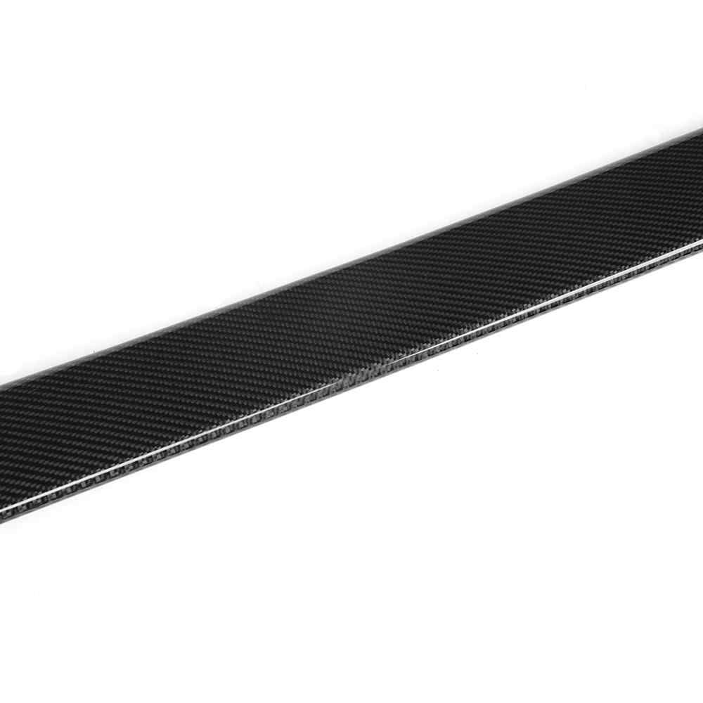 Carbon Fiber Car Rear Spoiler Rear roof wing spoiler for Infiniti G25 G35 G37 4 door 2006 - 2013