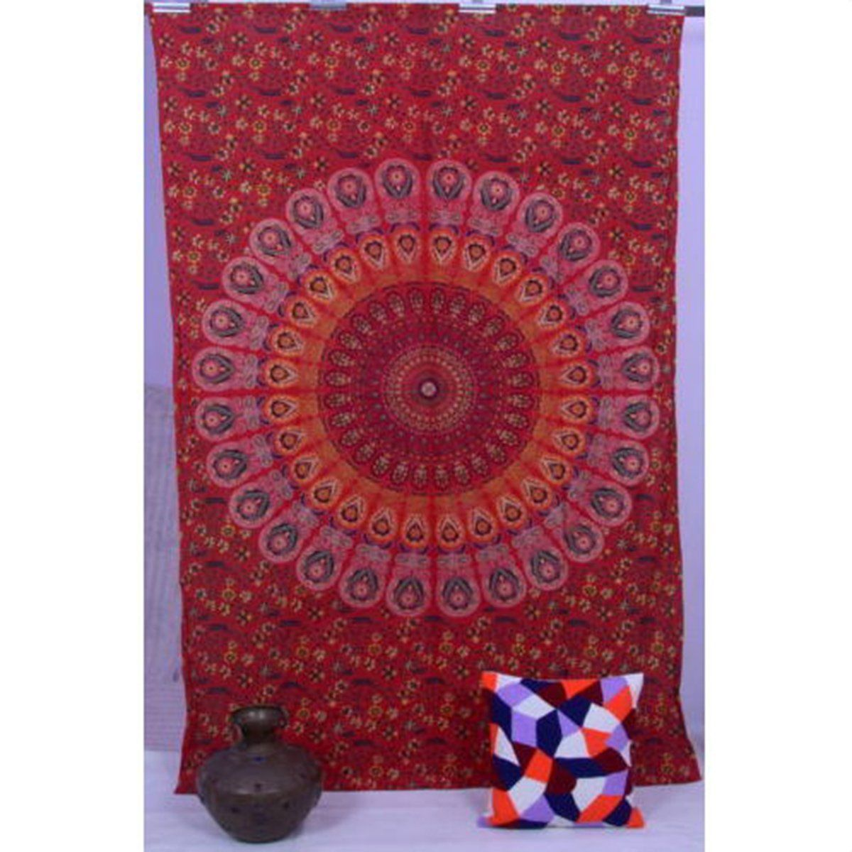 New Indian Towel Scarve Fashion Mandala Tapestry Beach Picnic Throw Rug Blanket Polyester Cotton