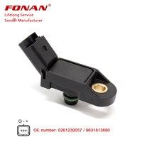 KARTE sensor für CITROEN XSARA Brechen (N2) 1 4 i 1 6 i 2 0 1 8 i 16 V 1997-2010 9639418880
