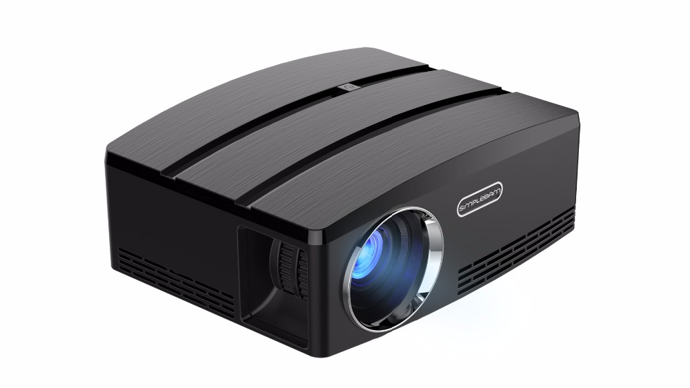 GP80UP Upgraded Android 6.0 Mini Projector LED LCD Projector VGA HDMI Optional Bluetooth Wireless WIFI Beamer