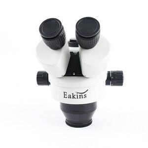 Image 3 - 3.5X 90X כפול זרוע בום Stand סטריאו Trinocular זום מיקרוסקופ עבור טלפון נייד שבב מעבד שעון תיקון תכשיטי זיהוי