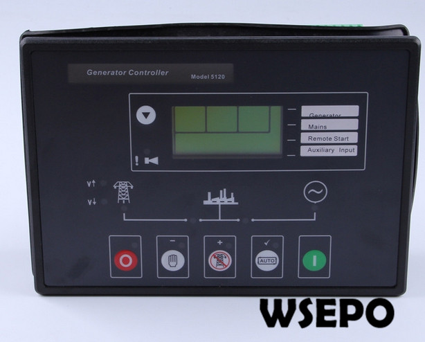 Top Quality Replacement Controller, DSE5120 Control Module/Controller Unit for Diesel Generator SetTop Quality Replacement Controller, DSE5120 Control Module/Controller Unit for Diesel Generator Set