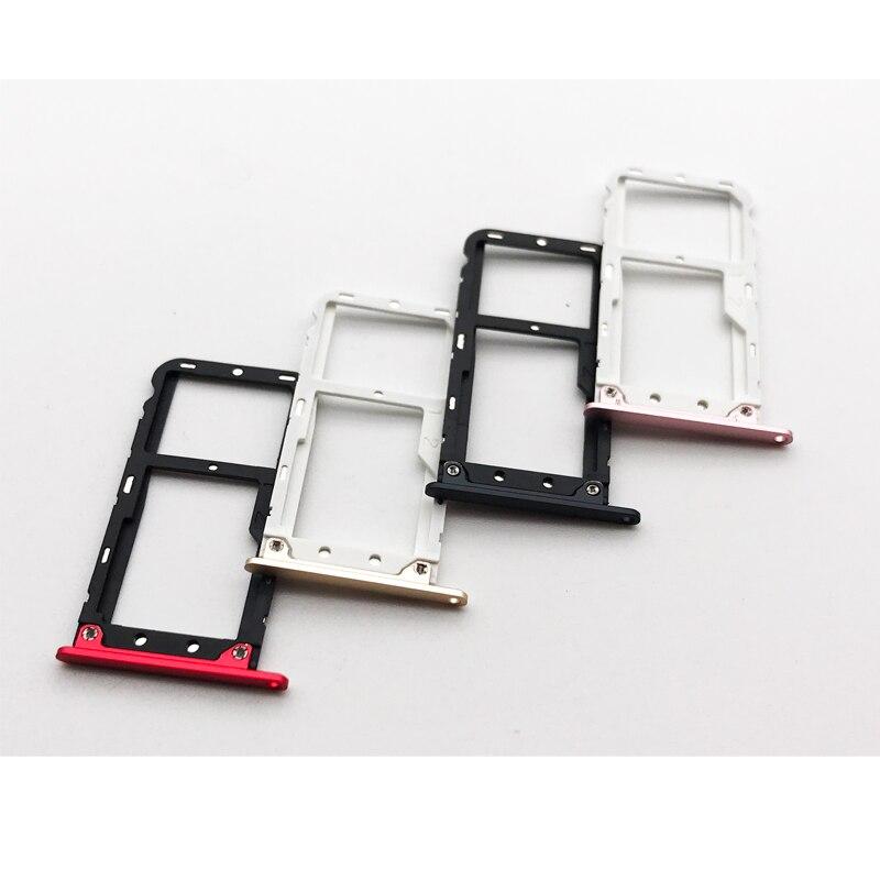 SIM Micro SD Card Tray Slot For Xiaomi Mi A1 5X Mi5X MiA1 M5X 5.5 Card Reader Holder Replacement Parts