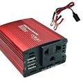 Новый 200 Вт Авто/Дома Инвертор Преобразователь Адаптер 12 В До 220 В/110 В Зарядное Два USB С Зажимами Кабеля