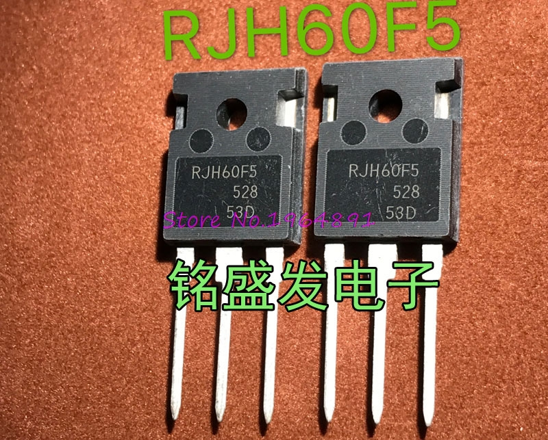 10pcs/lot RJH60F5DPQ RJH60F5 60F5 TO-247 80A 600V IGBT In Stock