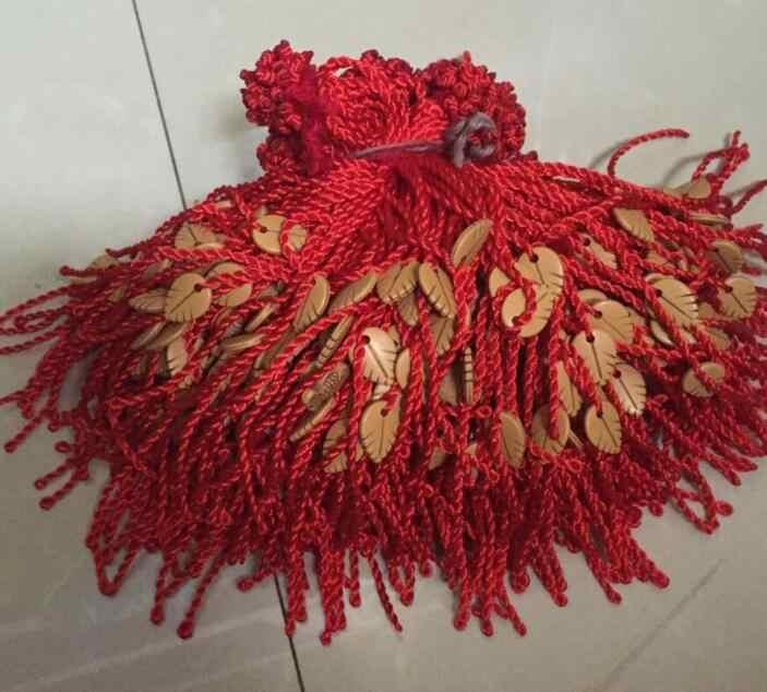 Sl 093 2018 молодых мужчин и женщин браслет красный Веревка Браслет счастливый подарок для женщин веревка ручной работы ювелирных изделий facto