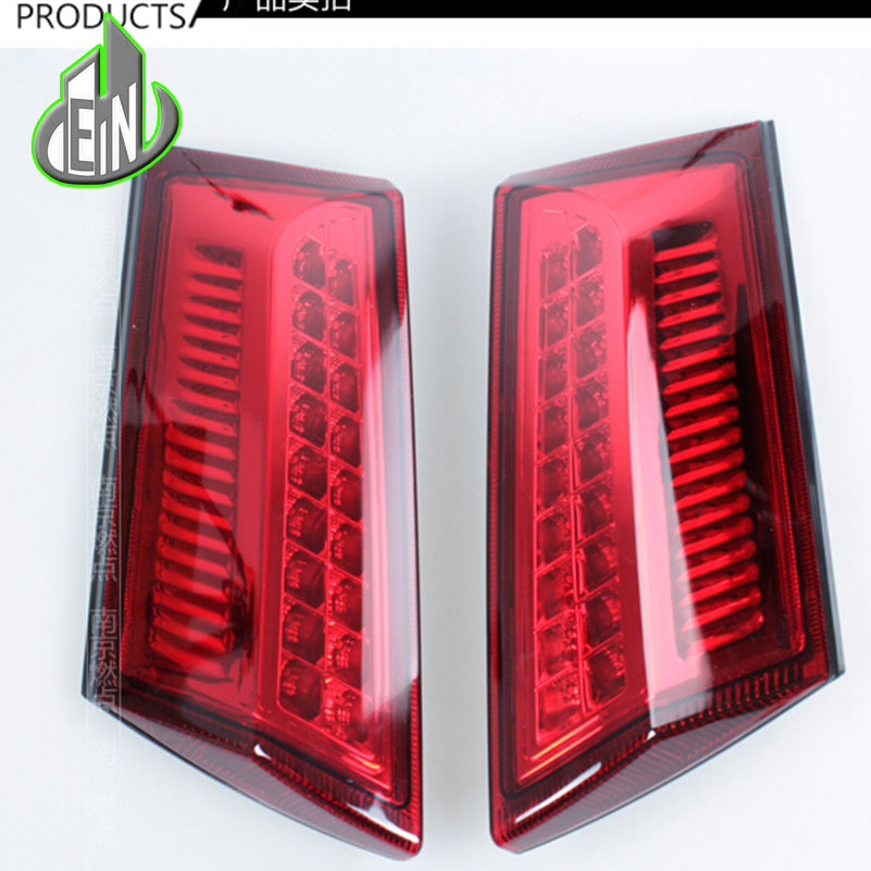 Car Styling Styling Accessories for Ford Ecopsort Taillights 2014-2015 LED Tail Lamp LED Rear Lamp DRL+Brake+Park+Signal led lig car styling tail lights for ford ecopsort 2014 2015 led tail lamp rear trunk lamp cover drl signal brake reverse