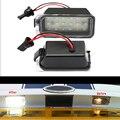Estilo do carro 2x Erro Free led license plate luz traseira Para Ford Fiesta Foco JA8 DA3 DYB-S max C-max Mondeo Kuga Foco auto lâmpada