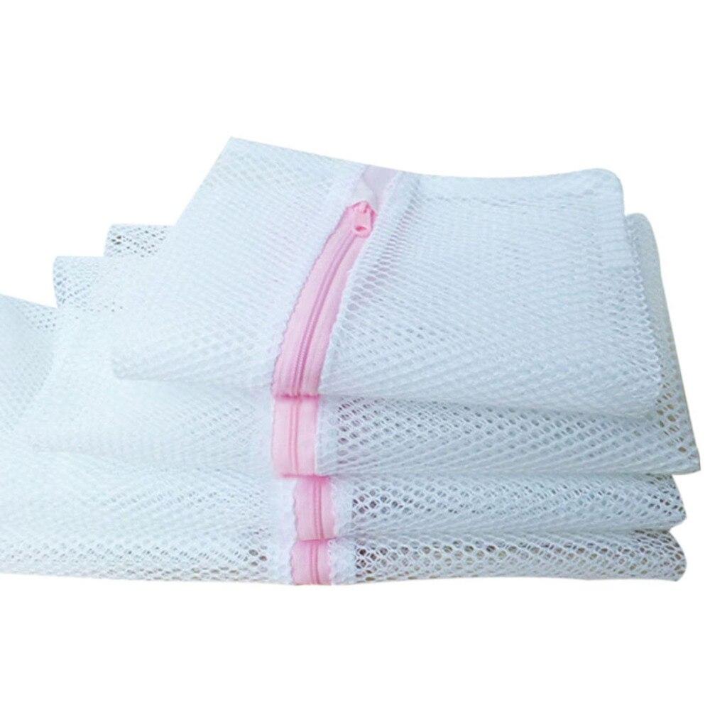 4 Pcs/set Laundry Bag For Washing Mesh Laundry Bag Bra Underwear Laundry Wash Bag Washing Machine Protection Net Care Net
