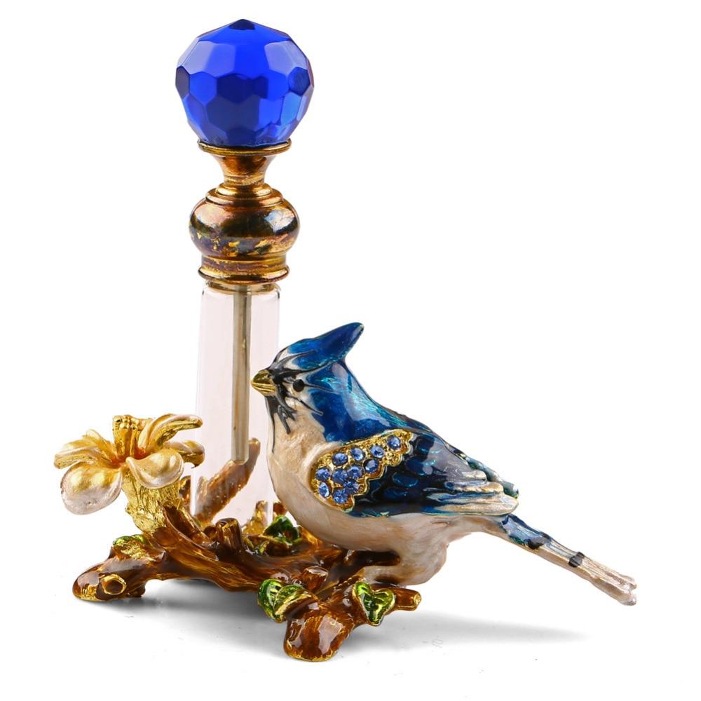4ml Vintage Metal Bird Glass Empty Perfume Bottle Container Decor Ladies Gift Free Shipping, арт. 32848049660/1, цена 12 $, фото и отзывы