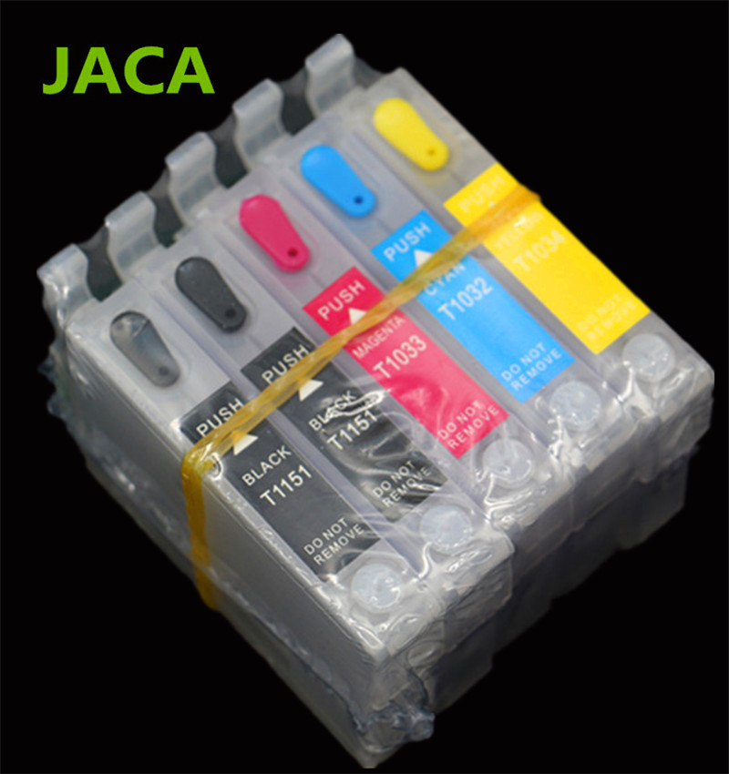 T1151 T1151 T1032 T1033 T1034 Empty Ink Cartridges <font><b>T1110</b></font> Refillable Ink Cartridge With ARC Chip For <font><b>Epson</b></font> <font><b>T1110</b></font> Inkjet <font><b>Printer</b></font> image