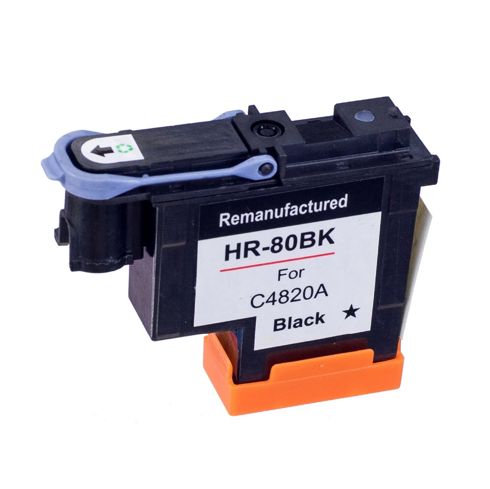 80 BK Compitable Print Head C4820A c4820a for HP80 Printhead for hp 80 Ink Cartridge Head for HP Designjet 1050 1055 Printer 1 set printhead cleaning kit for hp designjet 5000 5500 5100 1050 1055
