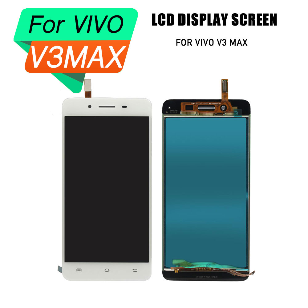 lcd digitizer screen for VIVO V3 MAX lcd screen touch screenf frame assembly for VIVO V3 MAX lcdslcd digitizer screen for VIVO V3 MAX lcd screen touch screenf frame assembly for VIVO V3 MAX lcds