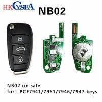 HKCYSEAใหม่KD NB02 NBชุดกุญแจรถระยะไกลสำหรับสำหรับKD900/KD900 +/URG200สำคัญโปรแกรม