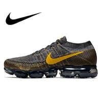 Nike Air VaporMax Flyknit zapatos para correr para hombre zapatillas deportivas al aire libre diseñador Atlético buena calidad 2018 nueva llegada 849558- 001