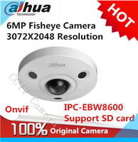 Dahua IPC EBW8600 6MP 3072X2048 Resolution PoE WDR Panorama 360 Degree Fisheye Dome E PTZ Network