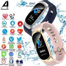 Купить с кэшбэком Smart Bracelet Men and Women Smart Bracelet Blood Pressure Measurement Outdoor IP67 Waterproof Smart Watch Amazfit Bracelet