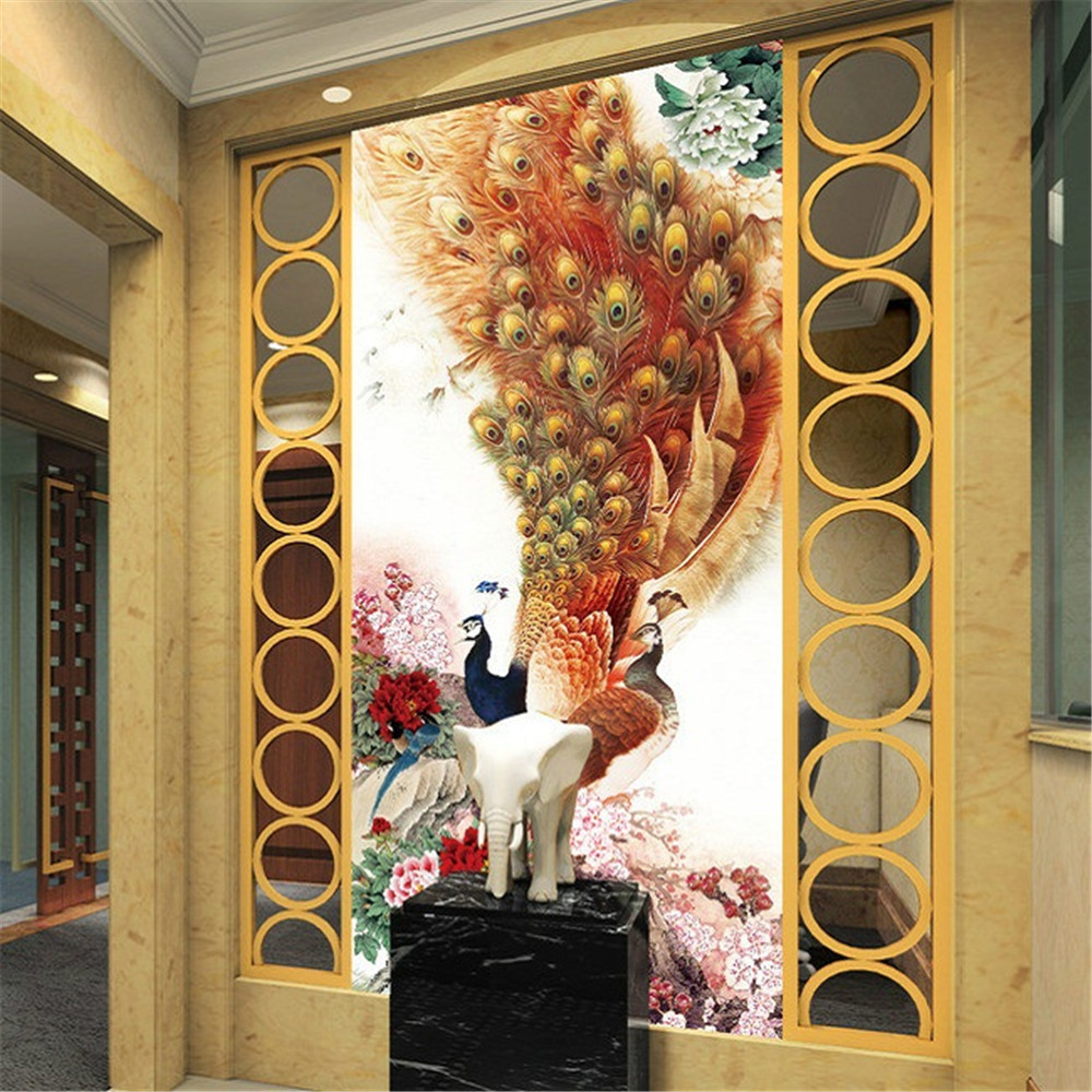 PSHINY 5D DIY Diamante bordado pavo real Imágenes kit de mosaico de - Artes, artesanía y costura - foto 2