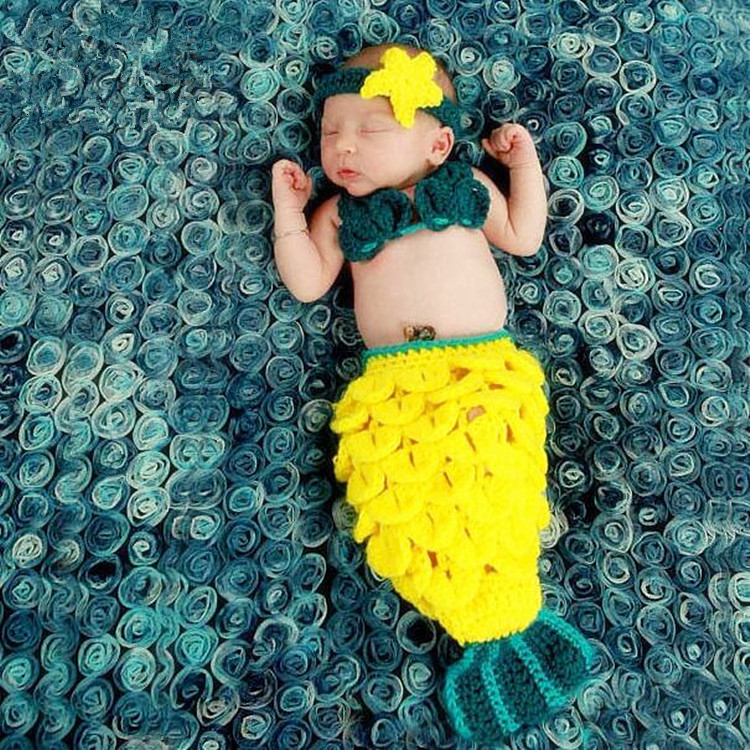 Fashion Baby Girls Boy Newborn Knit Crochet  Clothes Photo Prop Outfits newborn photography props newborn baby photography props infant knit crochet costume peacock photo prop costume headband hat clothes set baby shower gift