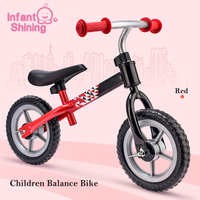 Infant Shining Kid Balance Bicycle Children Bike Ride on Cars Outdoor Learn To Walk Baby Birthday Gift for 2 6Y