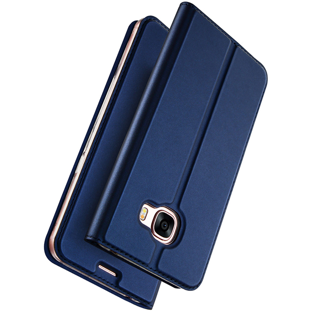 quality design 125b3 18943 US $8.99 10% OFF|DUX DUCIS Luxury Leather Case For Samsung Galaxy A5 2017  Flip Cover Wallet Phone Case For Samsung A5 2017 A520F A520F/DS Coque-in ...