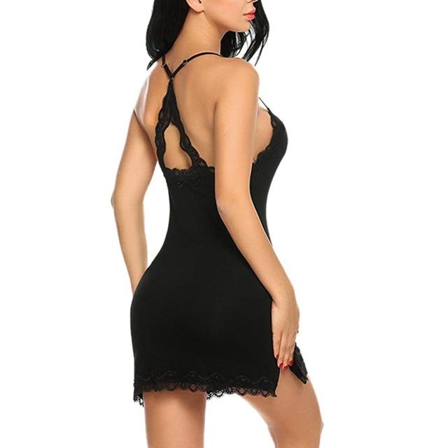 V-NECK SEXY WOMEN LINGERIE (2 VARIAN)