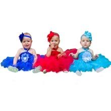 NewBorn baby tutu dress Baby Girls Sweet Wedding Party Tutu Dress boutique Pettiskirt