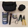 10 In 1 FTTH Fiber Optic Tool Kit Fiber Cleaver, fiber power meter 10 Mw Visual Fault Locator kabel tester Draht stripper