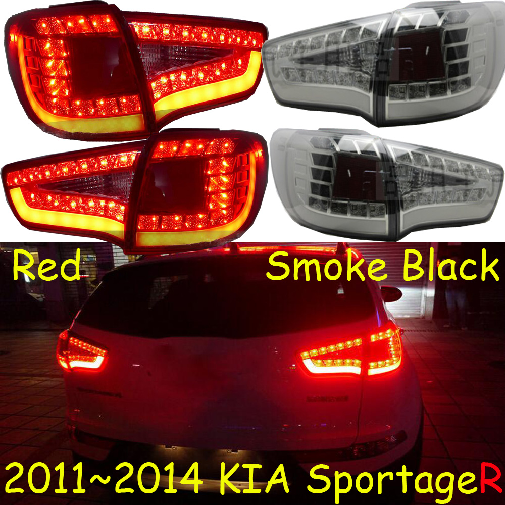 car-styling,KlA SportageR Taillight,2011~2014,Free ship!2pcs,SportageR fog light;chrome,SportageR tail lamp,Ceed,sportage R car styling kla forte taillight 2009 2012 free ship 2pcs forte fog light chrome forte tail lamp cerato k3 ceed sportage r