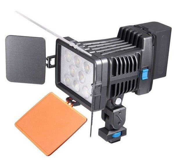 Professional LED Video Light LED-5080 for Canon Nikon Pentax DSLR Camera Camcorder DV Lamp + Charger + Hand Grip стоимость