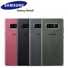 100% оригинальный samsung Galaxy Note 8 SM-N950F антидетонационный Алькантара чехол для телефона чехол для мобильного телефона Fundas Coque 4 цвета