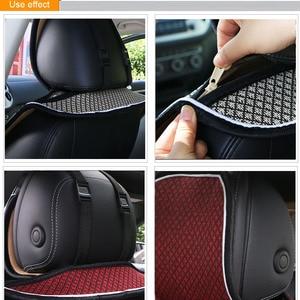 Image 5 - Car Seat Cover Microfiber Auto Seat Protector Quick Dry / O SHI CAR seat cushion Secure Non Slip Odor Free Universal
