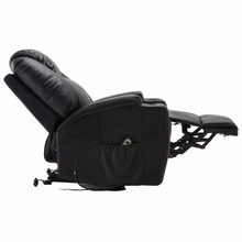 Giantex Electric Lift Power Recliner Chair Heated Massage Sofa Lounge with Remote Control Sofa Chairs Modern Recliner HW53991
