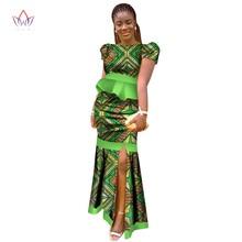 d992a54616bd7 أفريقيا نمط 2018 جديد أزياء الأفريقي فساتين للنساء Dashiki زائد حجم الملابس  الأفريقية أنيقة حزب اللباس من الصين WY2535