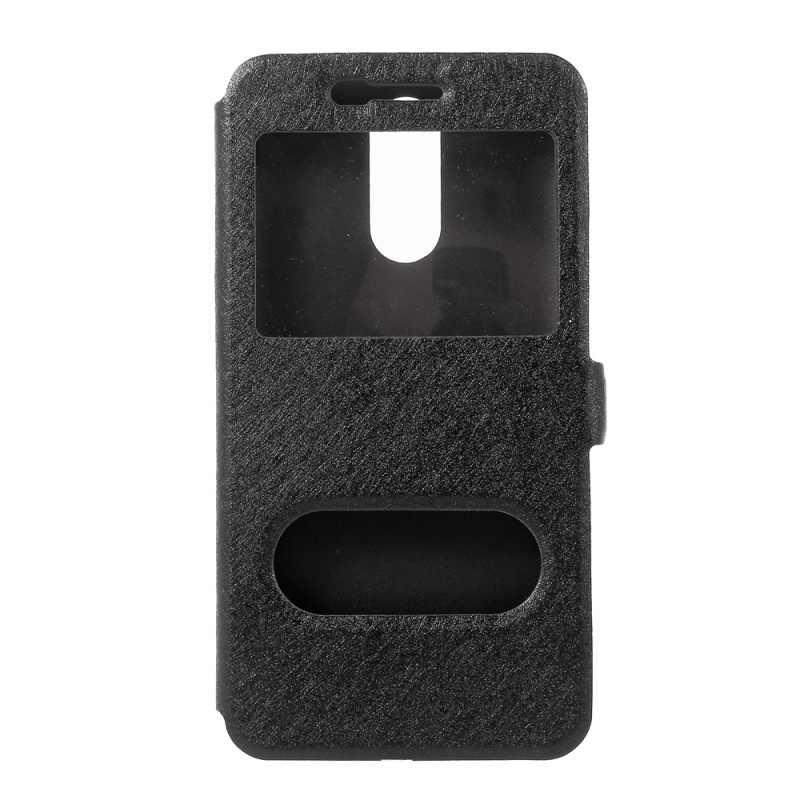 สำหรับLG G3 G4 G5 K3 K4 K8 K10 2017 X Powerคุณภาพสูงผ้าไหมกระเป๋าสตางค์Flip Stand PUหนังกรณี