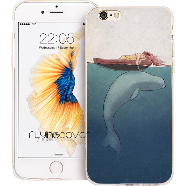 coque iphone 7 baleine
