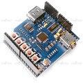 Porta USB Slot SD Escudo MP3 Player Módulo Board para Arduino