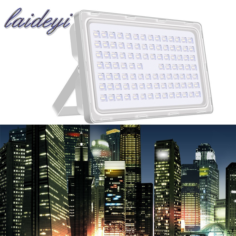 NEW 300W Outdoor Flood Light LED Projector AC200-240V LED Lampu 36000lm IlluminacionLED Flood Exterior Lighting Advertising Lighting