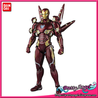 Genuine BANDAI SPIRITS Tamashii Nations S.H.Figuarts SHF Iron Man Mark 50 Nano Weapon Set 2 Action Figure