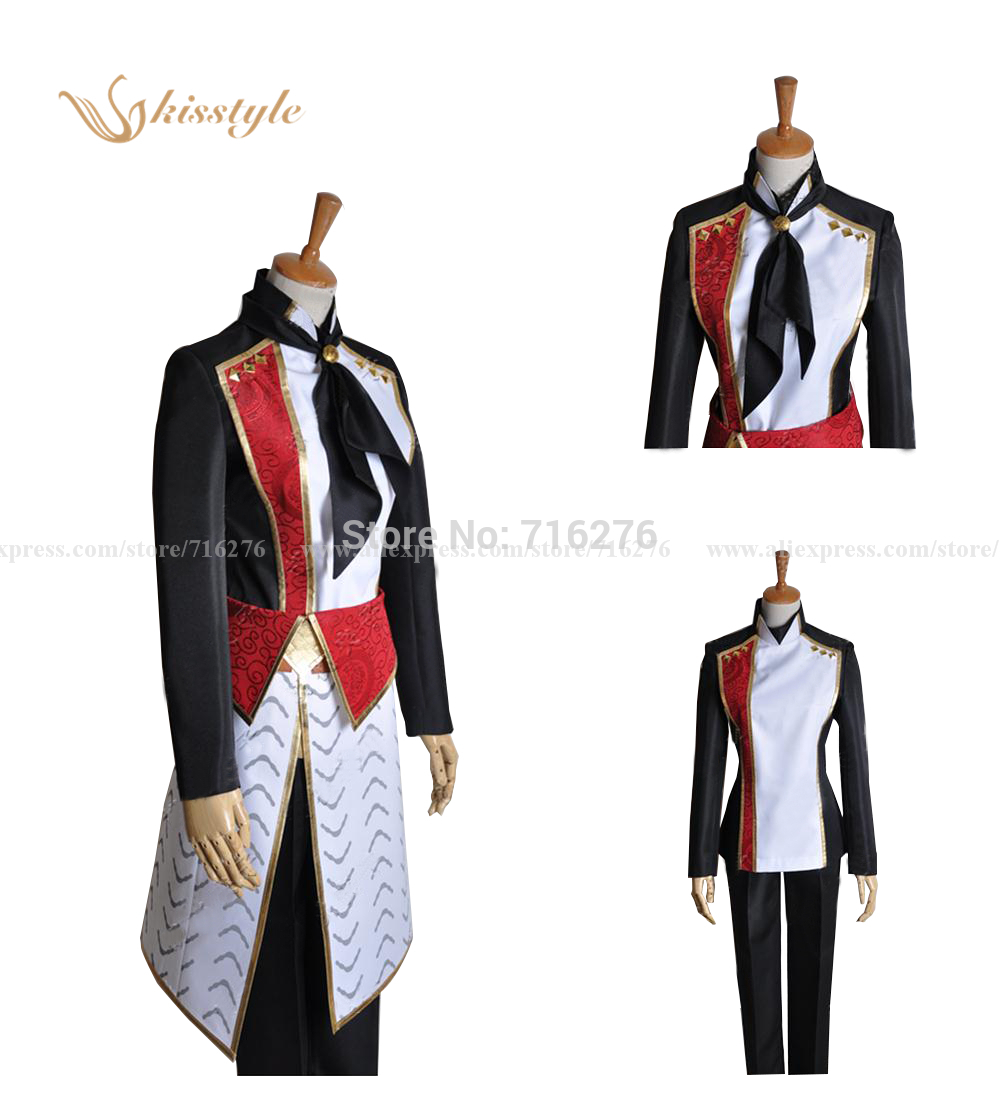 Details about Anime Amnesia Shin Clothing Cosplay Costume Custom With