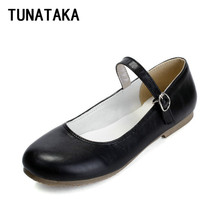 Simple Comfortable Mary Jane Flat Shoes Cute Girl Lolita Princess Shoes for Women