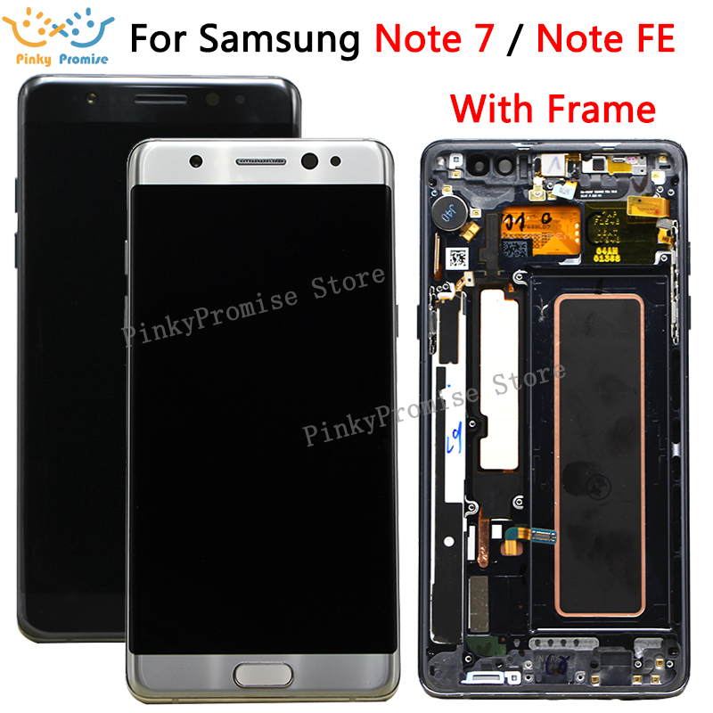 For Samsung Galaxy Note7 note FE 7 N930 N930F G LCD screen touch screen replacement digitizer